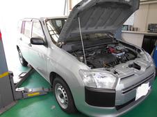 プロボックス NCP160 車検整備
